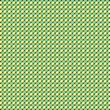 Green Yellow Weave poster