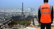 Security agent surveillance in Paris