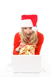 Buy your Christmas presents online, easy, fast, secure poster