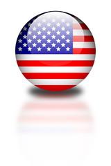 Aqua Flag - USA