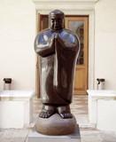 Venetian monk at praying poster
