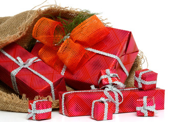 bag with gifts