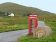 Telefonzelle auf Skye