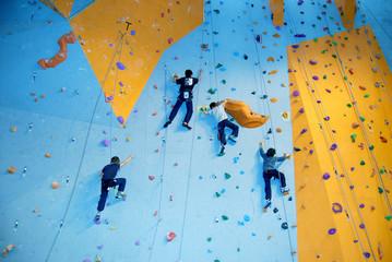 Compétition d'escalade