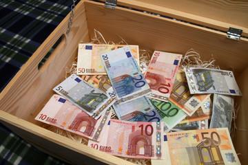 box of money