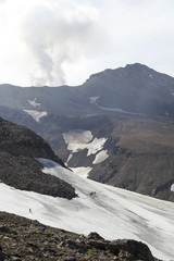 Mutnovskaya volcano. Kamchatka.