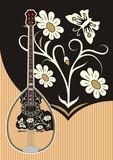 Bouzouki Trichordo music string instrument poster