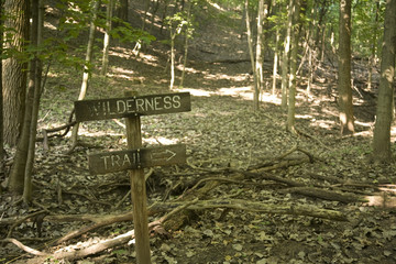 Wilderness Trail Sign 2