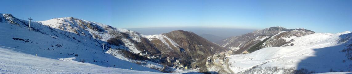 panorama, artesina dalle piste da sci