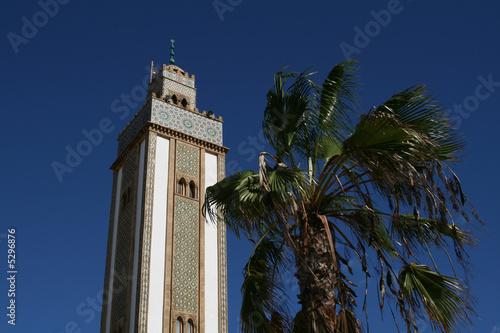 Der Turm der Moschee von Agadir