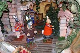 christmas decoration. miniature models  poster