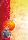 Fototapety new year's balls