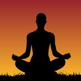 Fototapety Méditation