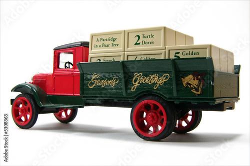 Seasons Greetings Holiday Truck 1 - 5308868