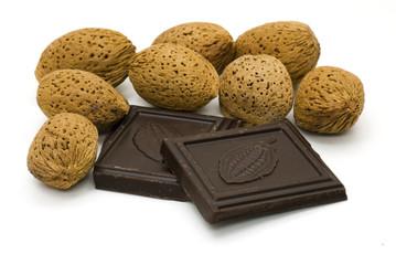 cioccolato e mandorle