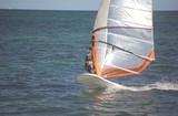 Atlantic Ocean Windsurfer poster