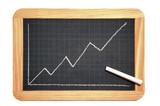 Blackboard graph poster