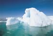 Iceberg and water