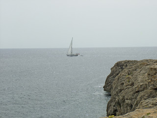 navegar en menorca