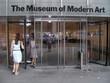 eingang zum museum of modern art