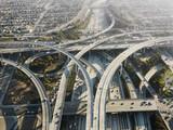 Fototapety Highway interchange.