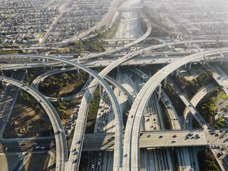 Highway interchange. © iofoto