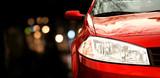 Fototapety Red car