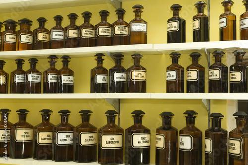 apothekerflaschen von digitalpress lizenzfreies foto. Black Bedroom Furniture Sets. Home Design Ideas