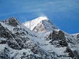 over 3000 meters windy peak poster