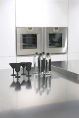 modern geometry in kitchen