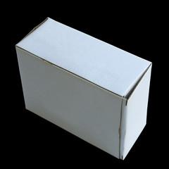 boîte sur fond noir
