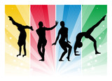 Olympic Games - Gymnast poster