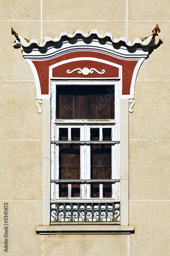 Decorated window, Portugal