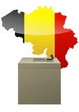 Election belge poster
