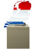 Election des Pays-Bas poster