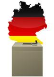 Election allemande poster