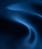 elegant and smooth blue satin background poster