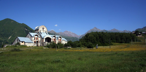 Church in kazbegi