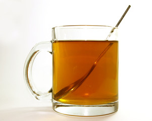 cup  of hot black tea