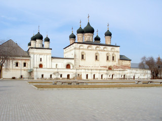 In the territory of the ancient Kremlin