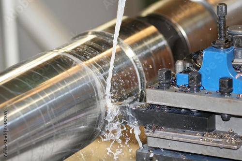 Lathe Turning Stainless Steel - 5362865