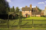 Eastnor Village Herefordshire the Midlands England poster