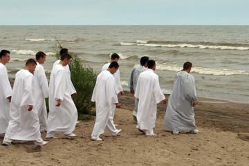 Water christening