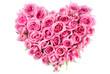 Rose In Love Shape