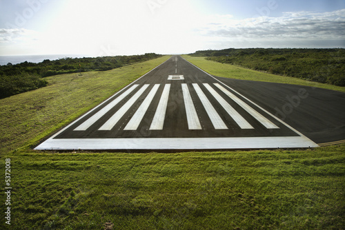 Airport Airplane landing strip.