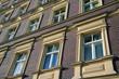 Häuserfront in Berlin