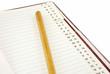 notebook alphabet record