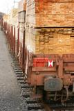 railway wagon-timber 1 poster