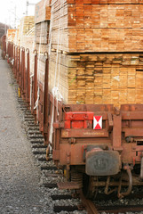 railway wagon-timber 1