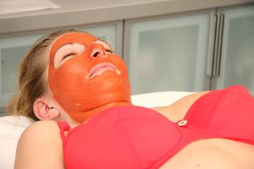 masque à l'argile rouge